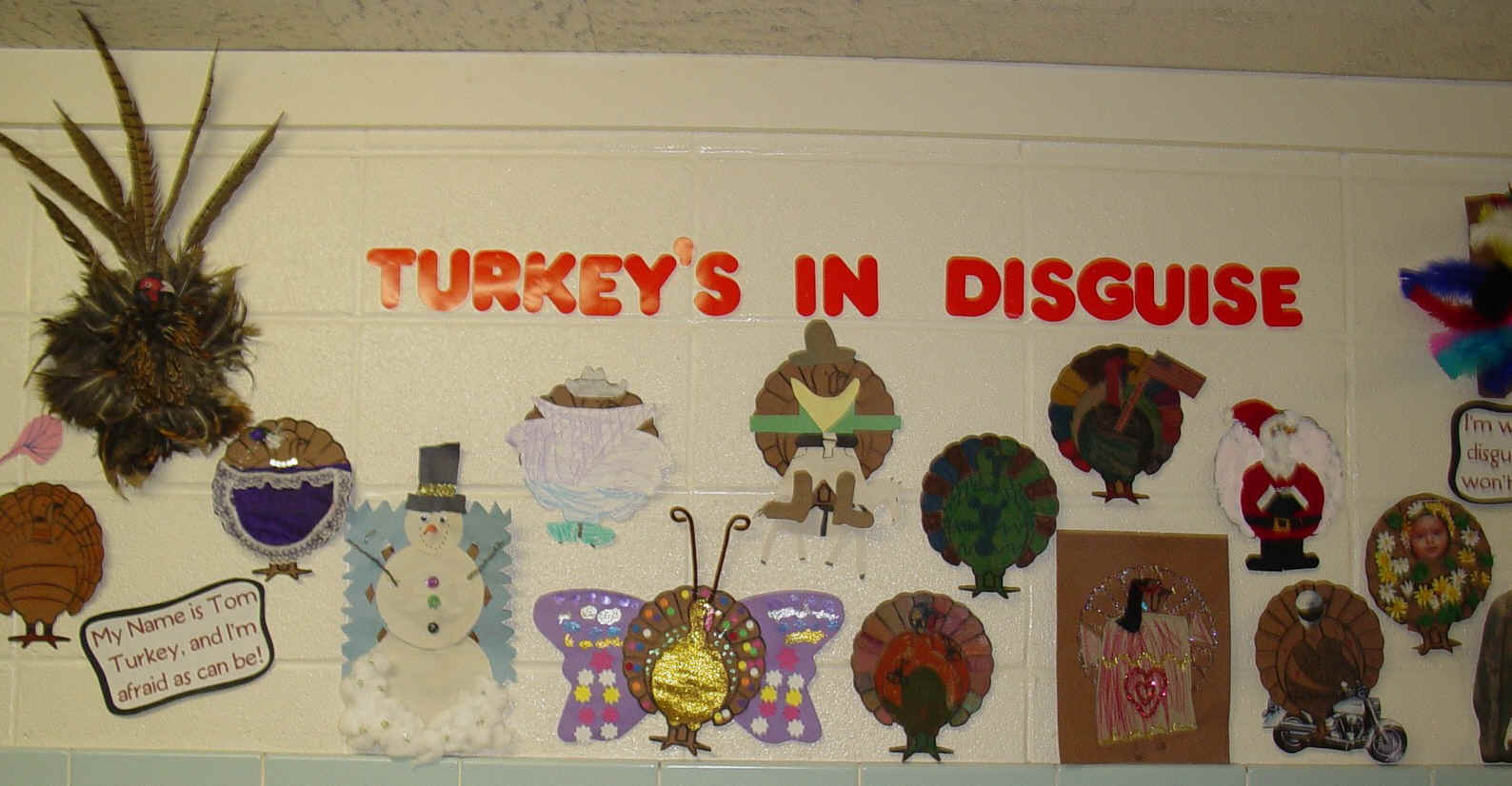 How to decorate and hide the turkey - How To Decorate And Hide The Turkey 24